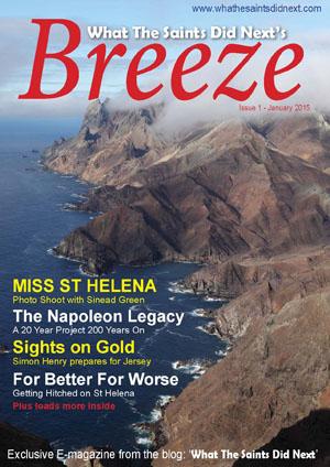 Breeze 1 e-magazine - published in January 2015.