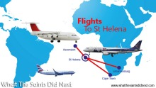 Flights to St Helena - Bids for air services from St Helena Airport